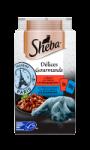 Croquettes pour chats au boeuf et au poisson Sheba