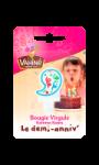 Bougie virgule Le Demi-Anniv' Vahiné
