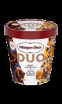 Glace duo chocolat noir et caramel Häagen-Dazs