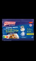 Plat cuisiné risotto aux fruits de mer Recette Presto Pescanova