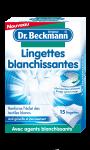 Lingettes Blanchissantes x15