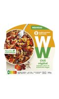 Plat cuisiné chili végétal Weightwatchers