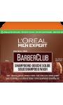 Shampooing douche solide BarberClub 4 en 1 L'Oreal Paris Men Expert