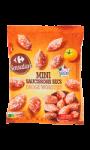 Mini saucissons secs pur porc Carrefour Sensation