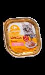 Pâtée pour chat au saumon Carrefour Companino