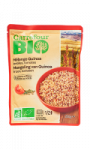 Mélange bio quinoa tomates lentilles Carrefour Bio