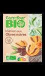 Biscuits salés palmiers aux olives noires Carrefour Bio