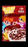 Céréales Choco Ballz croustillant Carrefour Kids