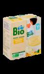 Dessert bébé bio pomme banane 10 mois Carrefour Baby Bio
