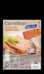 Terrine de campagne Carrefour