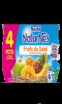 Compotes bébé dès 8 mois, fruits du soleil Naturnes