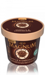 Glace en mini pot Vanille & Chocolat Magnum