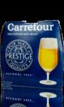 Bière blonde sans alcool Carrefour Prestige