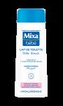 Mixa Bébé Lait de Toilette Très Doux 250 ml