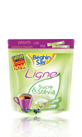 Sticks Ligne au Sucre et aux extraits de Stévia Béghin Say