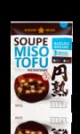 Soupe Miso Tofu Algues Wakame Instantanée Hikari Miso