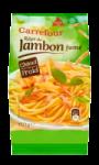 Jambon cuit fumé râpé Carrefour