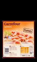 Lardons fumés Carrefour