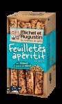 Feuilletés Apéritif aux Sésames et Graines de Pavot Michel et Augustin