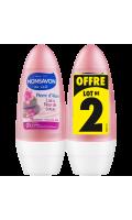 Monsavon Déodorant Femme Bille Pierre D'Alun & Lotus Lot De 2X50ml