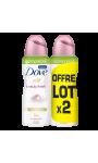 Dove Déodorant Femme Spray Beauty Finish Compressé Lot De 2X100ml
