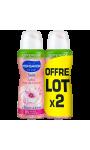 Monsavon Déodorant Femme Spray Fleur Cerisier Compressé Lot De 2X100ml
