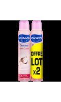Monsavon Déodorant Femme Spray Lait & Coton Lot De 2X200ml