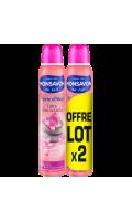 Monsavon Déodorant Femme Spray Pierre D'Alun & Lotus Lot De 2X200ml