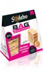 BAG 3 sandwiches jambon emmental salade + cookie Sodebo