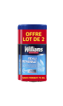 Williams Deodorant Homme Stick Ice Peau Sensible Lot De 2X75ml