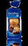 Mini gâches aux carreaux de chocolat belge Carrefour