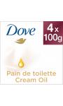 Dove Savon Pain de Toilette Suprême Toucher Soie 4X100g