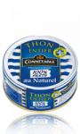 Thon entier au naturel 100% filets Connétable