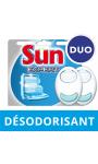 Sun Désodorisant Pour Lave-Vaisselle Neutraliser Duo Pack