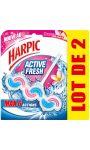 Bloc WC fleurs tropicales Harpic