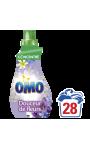 Omo Lessive Liquide Concentrée Douceur De Fleurs Et Jasmin 1l 28 Lavages