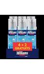 Williams Gel à Raser Oxygen Peau Sensible Lot De (4+2)X150ml