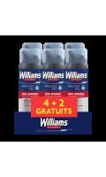 Williams Gel à Raser Peau Sensible Lot De (4+2)X200ml