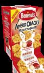 Apéro Cracks Maxi craquants goût tomate & oignons Bénénuts