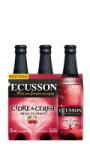 Cidre à la Cerise 3x33cl Ecusson