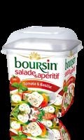 Boursin Salade & Apéritif Tomate & Basilic