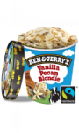 Ben & Jerry's Pot Glace Vanilla Pecan Blondie 500ml