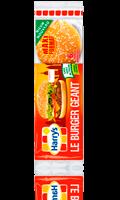 6 Pains à hamburger nature Harrys Le Burger Géant