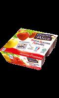 Compotes pomme fraise s/sucres ajoutés Charles & Alice