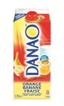 Danao - Boisson Lactée Orange Banane Fraise 1,75L
