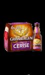 Bière d'Abbaye au goût cerise Grimbergen Kriek