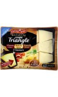 Fromage raclette triangle, 3 saveurs Entremont