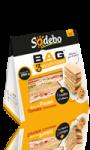BAG 3 sandwiches Blanc de Poulet Tomate Concassée + cookie Sodebo