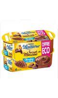 Dessert Secret de Mousse chocolat lait La Laitière