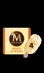 Magnum Batonnet Glace Chocolat Blanc Amande 4x110ml